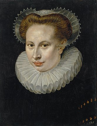 Frans Pourbus the Elder - Image: Lady by Frans Pourbus the Older (Hermitage)