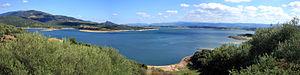 Lake Coghinas - Image: Lago Coghinas
