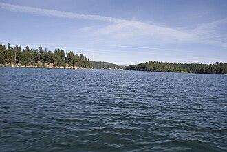 Pit 3 Dam - Lake Britton.