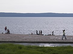 Lake Onega. Embankment in Petrozavodsk.jpg