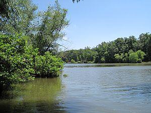 Poinsett County, Arkansas - Lake Poinsett within Lake Poinsett State Park, June 2011