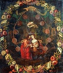 Aemilie Juliane als Jesusbraut (Quelle: Wikimedia)