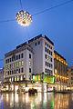 Lamp installation Licht-Ufo Kroepcke square Mitte Hannover Germany.jpg