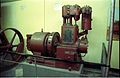 Lancashire - 15kW DC Generator with Hindley High Speed vertical Steam Engine - Motive Power Gallery - BITM - Calcutta 2000 255.JPG