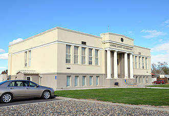 Lander County, Nevada - Image: Lander county nevada courthouse