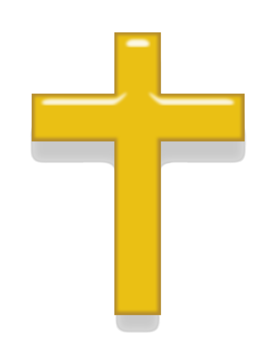 Latin cross gold