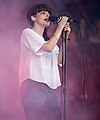 Lauren Mayberry of Chvrches performing in Austin, Texas, 2014.jpg