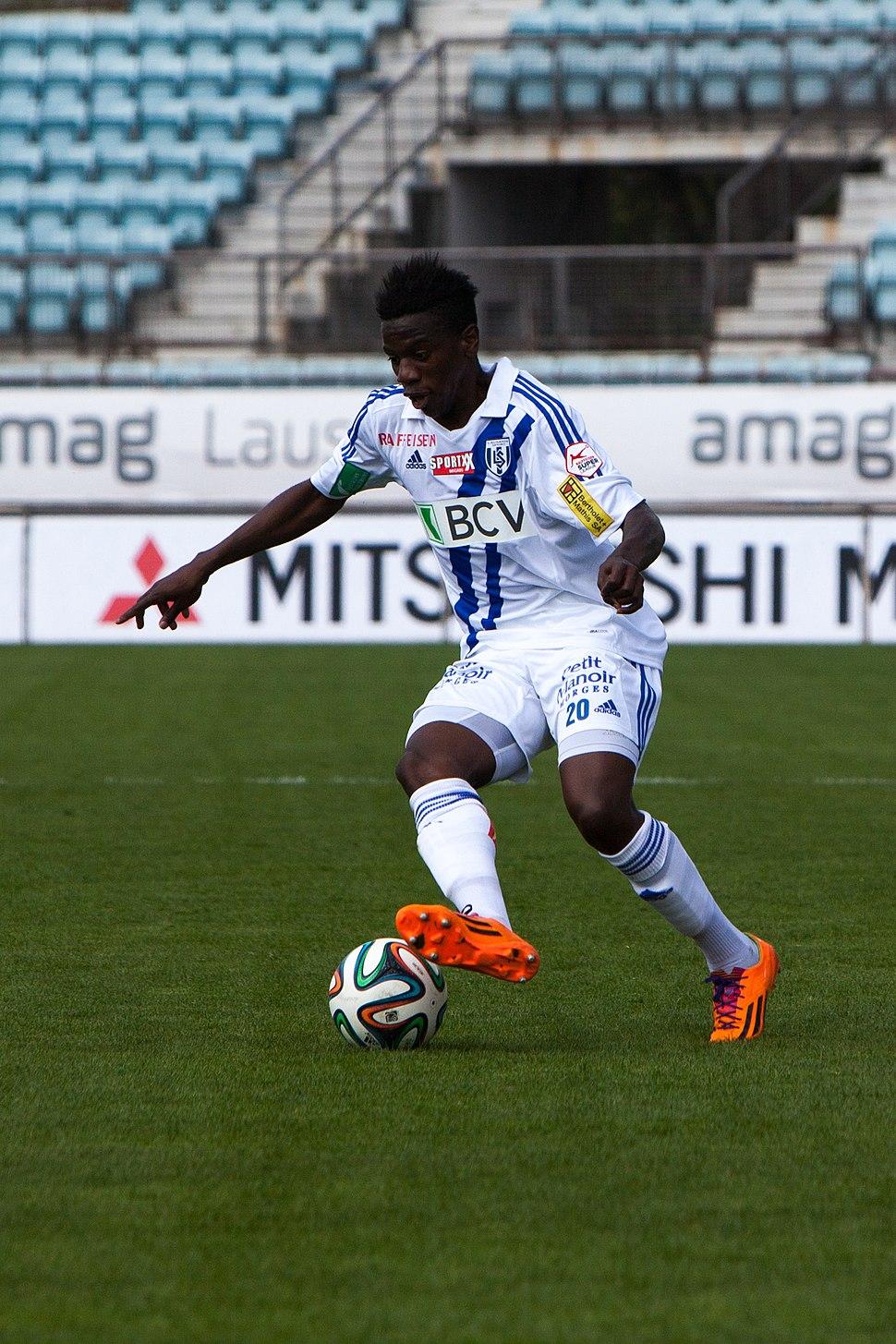Lausanne Sport vs FC Sion - Avril 2014 - Patrick Ekeng