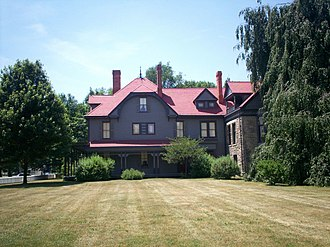 James A. Garfield National Historic Site - Image: Lawnfieldmodern