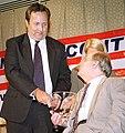 Lawrence Summers accepts the Jim and Sarah Brady Lifetime Achievement Award on behalf of President Bill Clinton.jpg