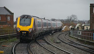 British Rail Class 221 - CrossCountry 221127 at Leamington Spa station