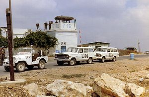 United Nations Interim Force in Lebanon - Dutch UNIFIL base, 1981
