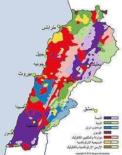 جغرافيا لبنان ويكيبيديا