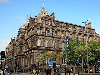 Leeds Central Library library in Leeds, England, formerly also municipal offices and museum building