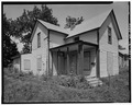 Left side from southeast - 828 Martin Luther King Jr. Parkway (Cottage), Des Moines, Polk County, IA HABS IOWA,77-DESMO,26-3.tif