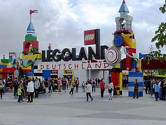 Legoland - The entrance of Legoland Deutschland