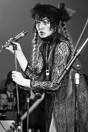 Lene Lovich - Lovich at University of Bradford in February 1979
