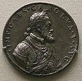 Leone leoni, medaglia argentea di carlo V.JPG