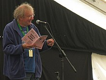 Les Barker at the 2010 Ely Festival