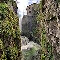 Les Planches-en-Montagne, première cascade des gorges de la Langouette.jpg