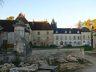 Château de Ricey-Bas - Image: Les Riceys Château de Ricey Bas 3