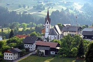 Lesachtal Place in Carinthia, Austria