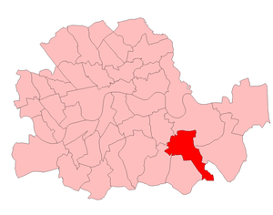 Lewisham North (UK Parliament constituency) - Lewisham North in the Parliamentary County of London from 1950 to 1974.