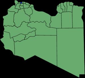Zawiya District - Pre-2007 extent of Zawiya District