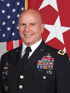 H. R. McMaster 26th United States National Security Advisor