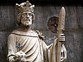 Lifesize Religious King Statue with Spear.jpg