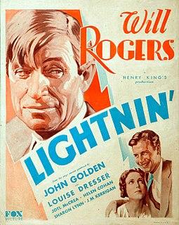 <i>Lightnin</i> (1930 film) 1930 film