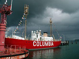 Columbia River Maritime Museum - The Lightship Columbia