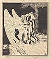 Lilien Ephraim Moses, 1923, Jakub i anioł.jpg