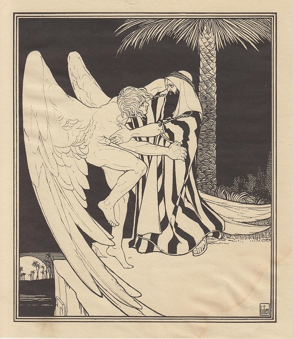 Lilien Ephraim Moses, 1923, Jakub i anioł
