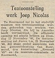 Limburgsch Dagblad vol 029 no 264 Tentoonstelling werk Joep Nicolas.jpg