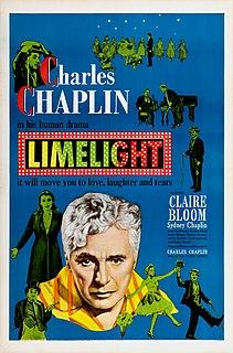 <i>Limelight</i> (1952 film) 1952 film by Charlie Chaplin