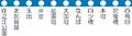 Linemap of Osaka Municipal Transportation Bureau Yotsubashi Line.PNG