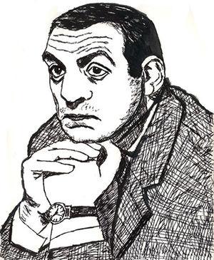 Schauspieler Lino Ventura