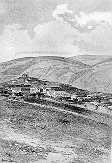 Litang Town in the 1840s