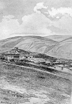 Litang County - Litang Town in the 1840s.