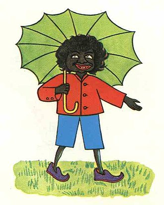 Picture book - Little Black Sambo illustration by Helen Bannerman, 1899