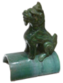 Little Green Dragon - looking left - Museum of Asian Art of Corfu.png