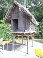 Little world, Aichi prefecture - Ainu house in Hokkaidō - Food Storage.jpg
