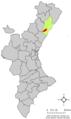 Localització de Borriol respecte del País Valencià.png