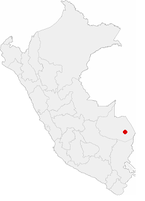 Location of the city of Puerto Maldonado in Peru.png