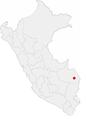 Location of the city of Puerto Maldonado in Peru.png