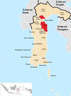 Peta Kabupaten Di Provinsi Lampung