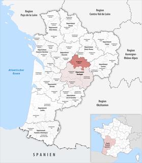 Arrondissement of Nontron Arrondissement in Nouvelle-Aquitaine, France