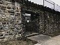 Locked gate facing E. North Avenue at northeast corner of Greenmount Cemetery (1839), 1501 Greenmount Avenue, Baltimore, MD 21202 (27365370518).jpg