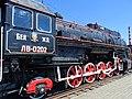 Locomotive at Brest Railway Museum - Brest - Belarus - 02 (27381377062).jpg